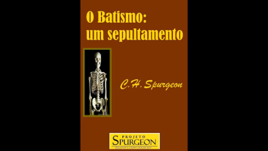 batismo, um sepultamento-livro pdf